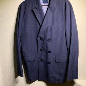 Brooks brothers Double-breasted Navy jacket